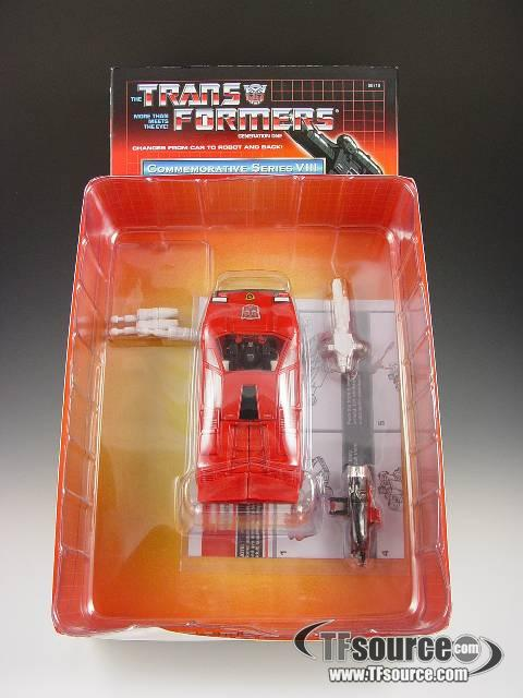 Reissue Commemorative Series  - Sideswipe - MIB - 100% Complete