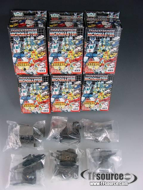 Reissue - Micromaster -  Reverse Evolution Sixturbo - Set of 6 - MIB - 100% Complete