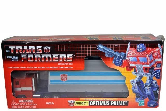 Reissue - Commemorative Series 1 - Optimus Prime - MIB - 100% Complete