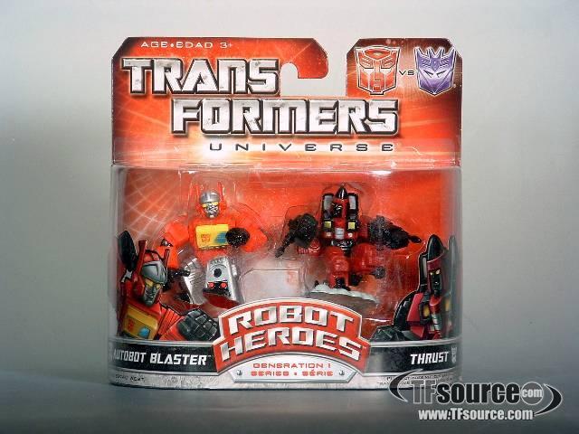 Robot Heroes - Blaster vs Thrust - MOSC