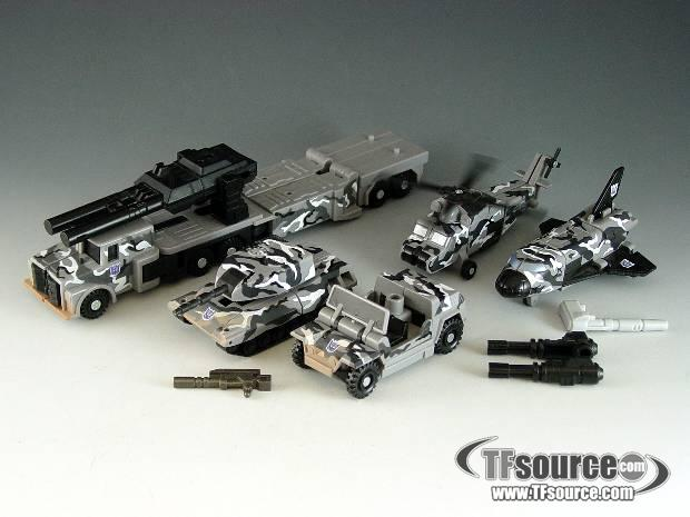 Robots In Disguise - Ruination - Urban Camo - As Shown