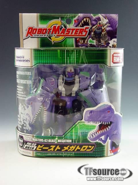 Robot Masters - RM-02 Beast Megatron - MISB!