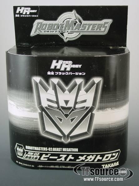 Robot Masters RM-02 Black Beast Megatron