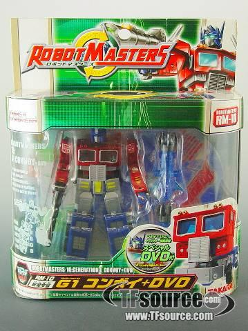 Robot Masters - RM-10 G1 Convoy - Metallic Paint - MISB