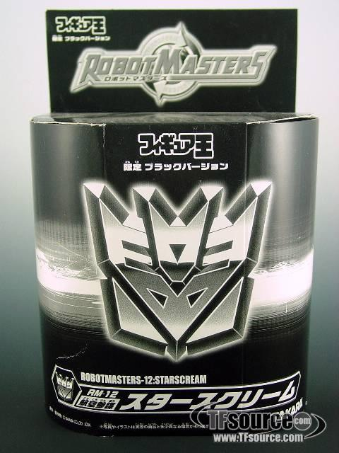 Robot Masters - RM-12 Black Starscream - MISB