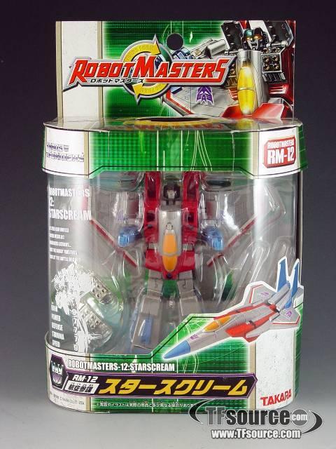 Robot Masters - RM-12 Starscream