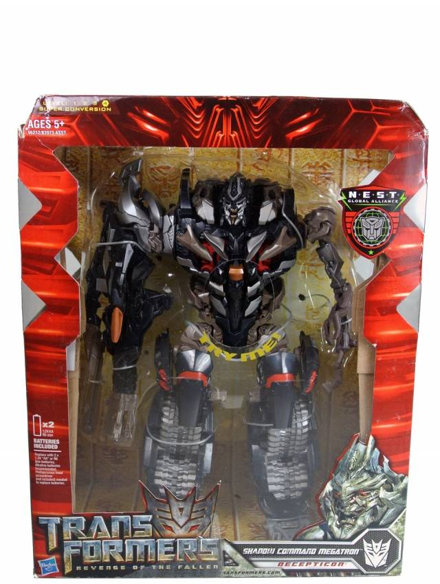 Revenge of the Fallen - Shadow Command Megatron - MISB