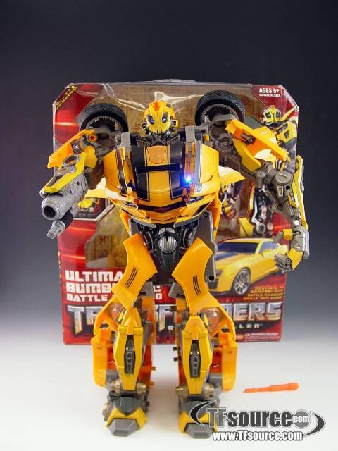 ROTF - Ultimate Bumblebee Battle Charged - MIB - 100% Complete