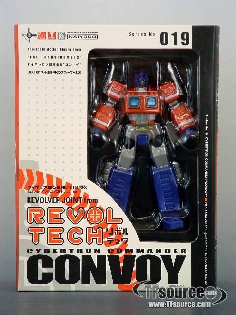 Revoltech - G1 Optimus Prime - MISB