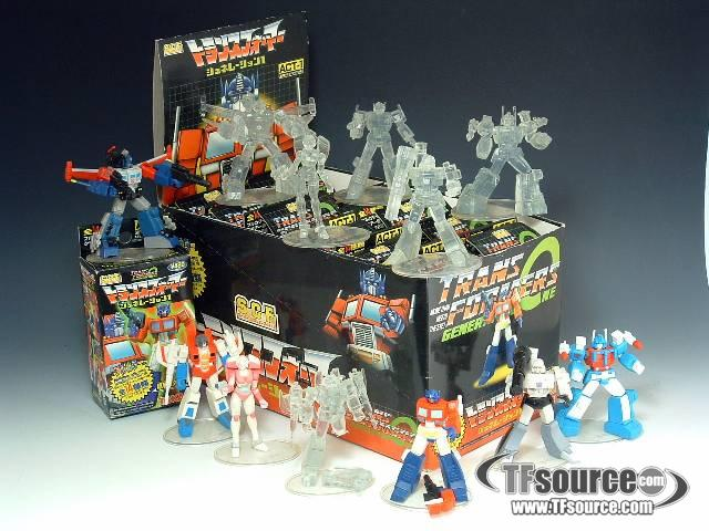 Super Collection Figure -  Act 1 - Color figures & Clear figures