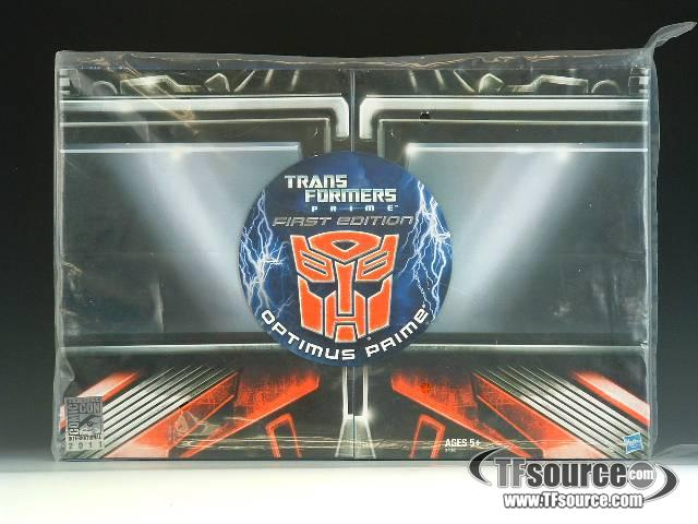 Transformers: Prime - SDCC 2011 Exclusive - Optimus Prime - MISB