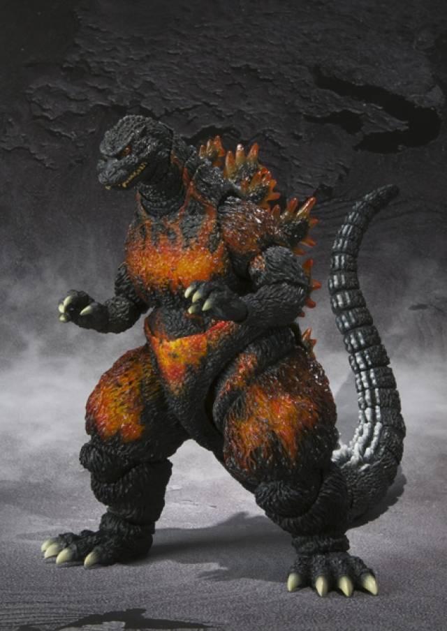 S.H.MonsterArts - Burning Godzilla (Godzilla 1995)