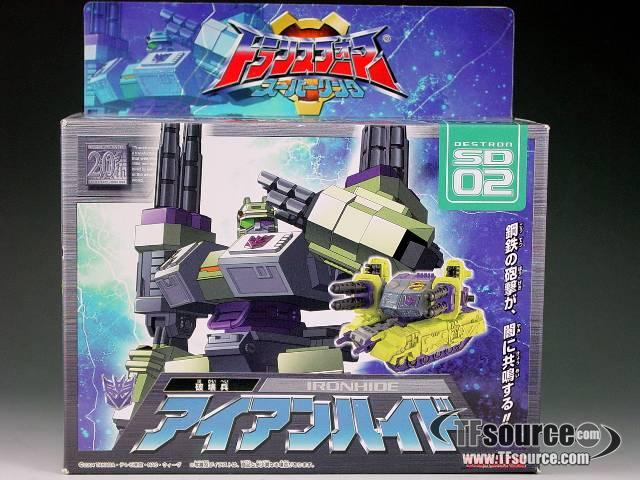 Superlink - SD-02 Ironhide (Demolishor) - MISB
