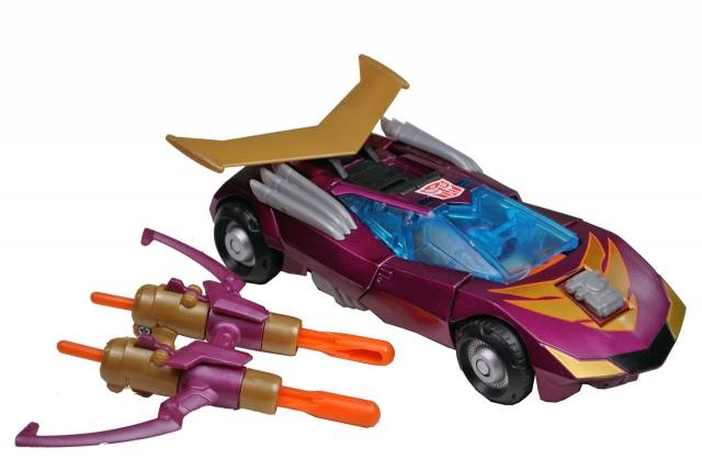 Japanese Transformers Animated - TA33 - Rodimus - Loose - 100% Complete