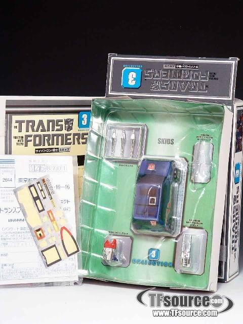 Reissue - Transformers Collection - TFC #3 Skids - MIB