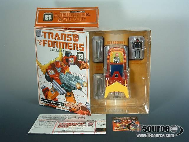 Reissue - Transformers Collection - TFC #13 Targetmaster Hot Rod - MIB - 100% Complete