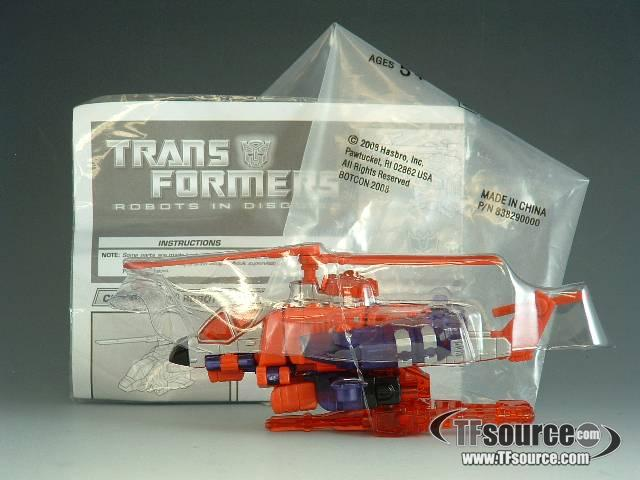 Transformer Collector's Club Exclusive - Top Spin - Loose - 100% Complete