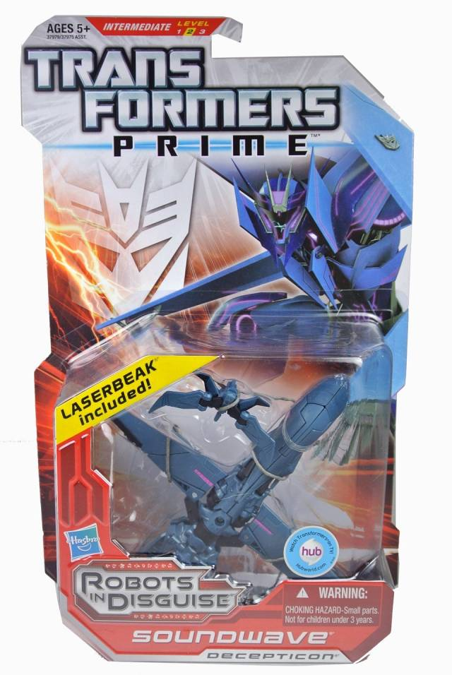 Transformers Prime - Deluxe Series 01 - Soundwave - MOSC