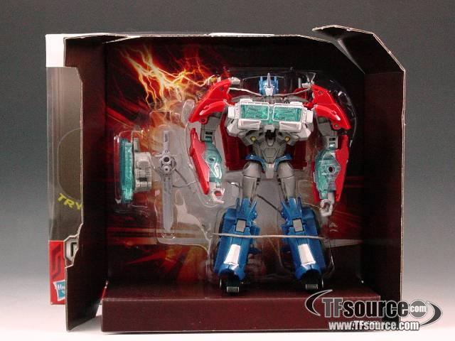 Transformers Prime Voyager Series 01 - Robots in Disguise - Optimus Prime - MIB - 100% Complete