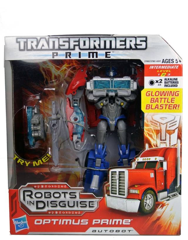 Transformers Prime Voyager Series - Optimus Prime - MISB
