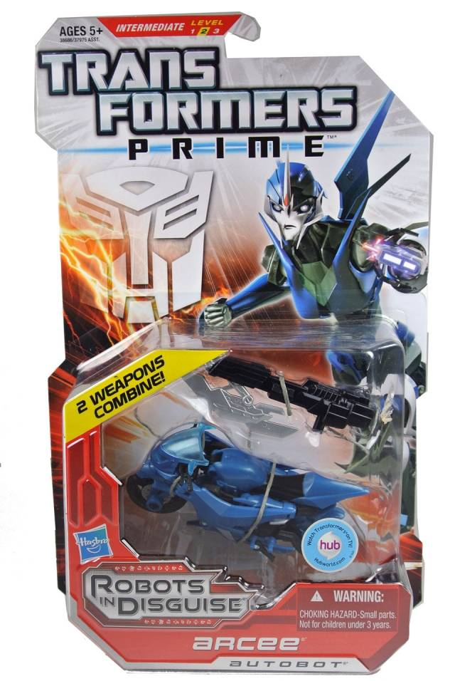 Transformers Prime - Robots in Disguise - Arcee - MOSC