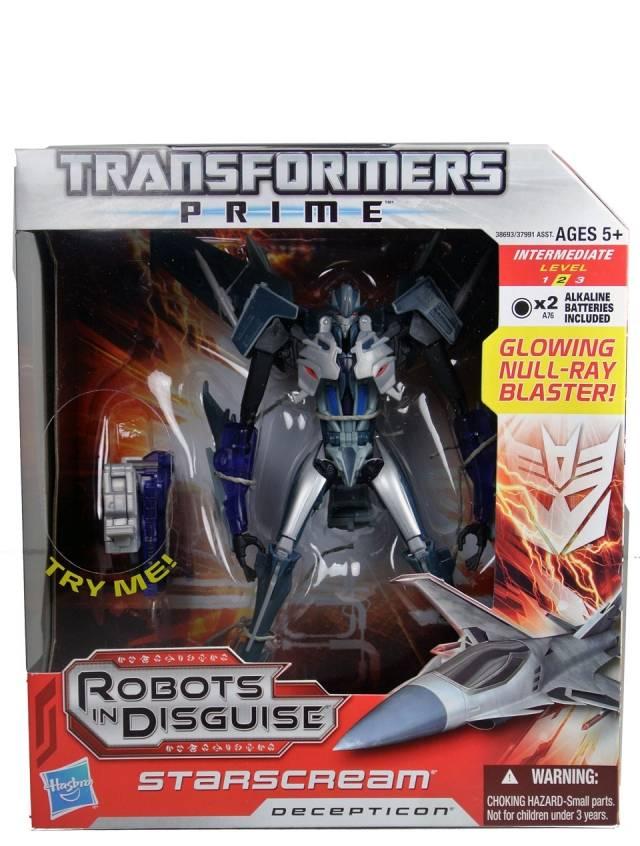 Transformers Prime Voyager Series - Starscream - MISB