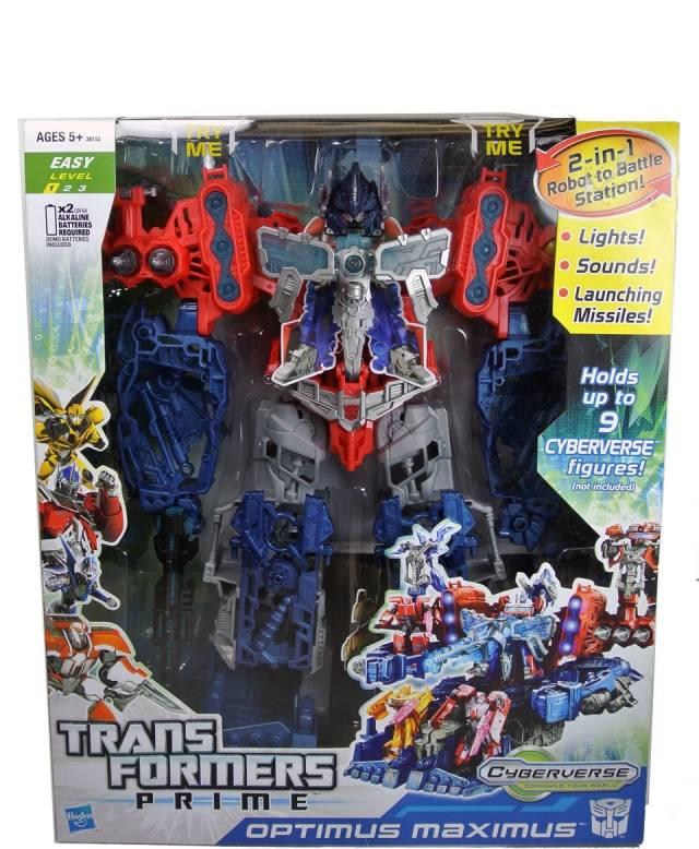 Transformers Prime - Cyberverse Optimus Maximus - MIB