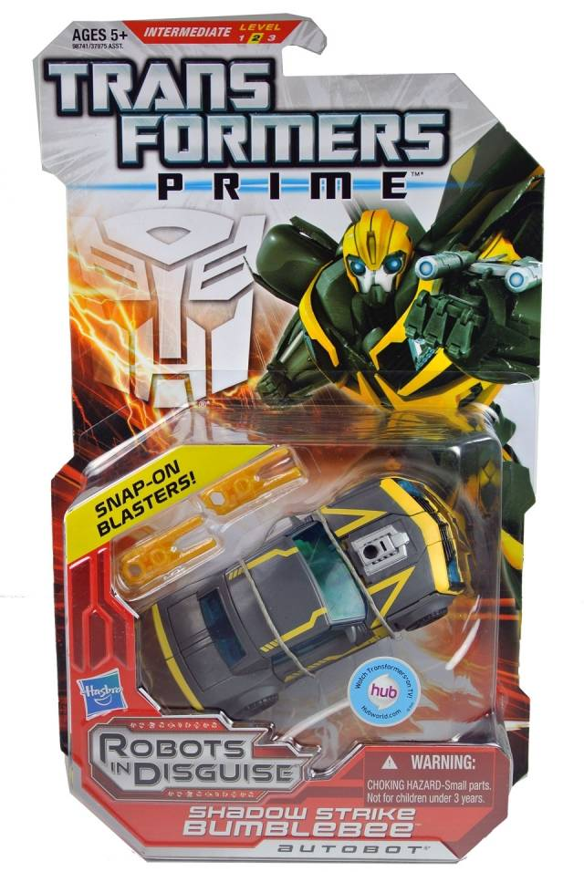 Transformers Prime - Shadow Strike Bumblebee - MOSC