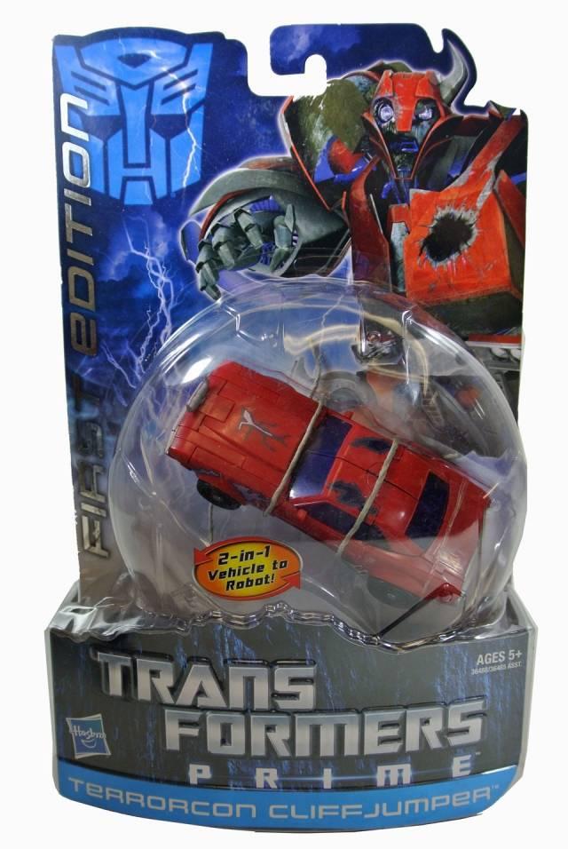 Transformers Prime - Terrorcon Cliffjumper - MOSC