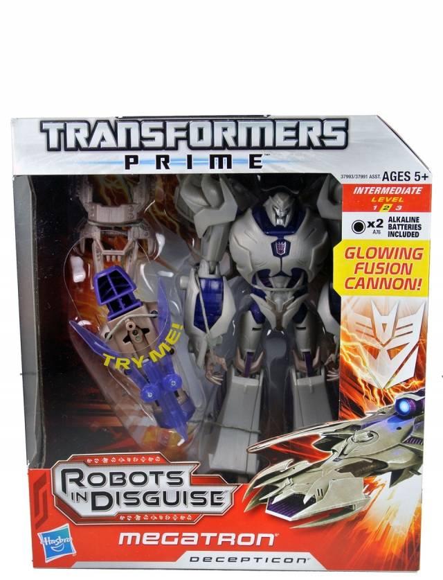 Transformers Prime Voyager Series - Megatron - MISB