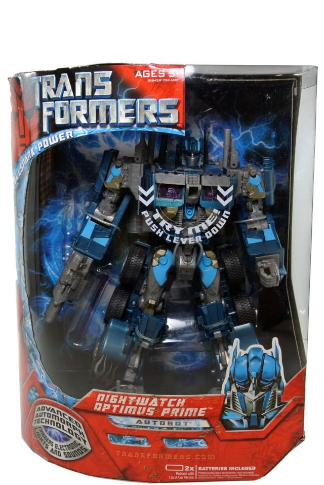 TFTM - Nightwatch Optimus Prime - MIB - 100% Complete