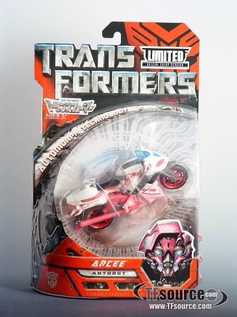 Transformers the Movie  - Wonderfest Exclusive Arcee - MIB - 100% Complete