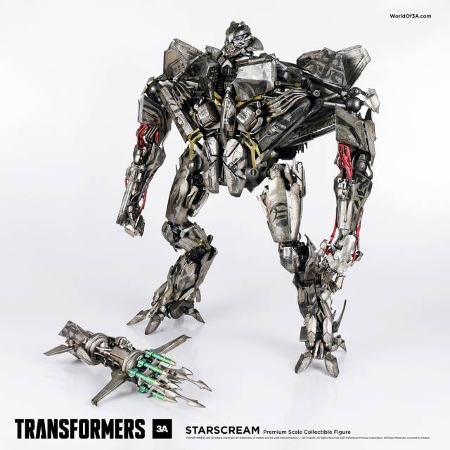 Transformers Starscream - Premium Scale 16in Collectible Figure