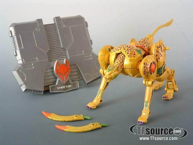 Titanium - Cheetor - Loose - 100% Complete