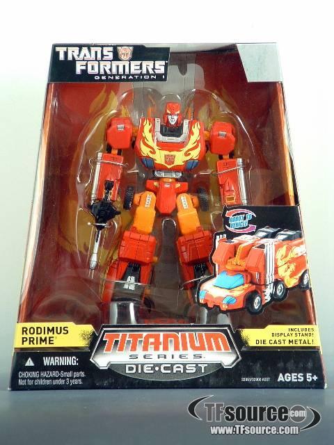 Titanium - Rodimus Prime - MISB