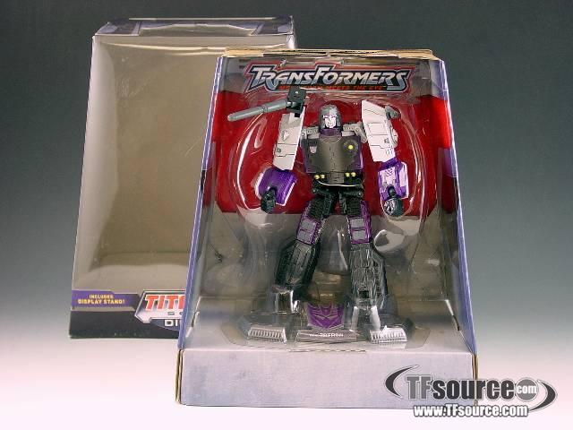 Titanium - Megatron - MIB - 100% Complete