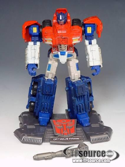 Titanium - Optimus Prime - War Within - 100% Complete