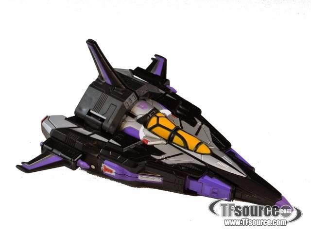 Titanium - SDCC Exclusive - Skywarp - Loose - Missing stand