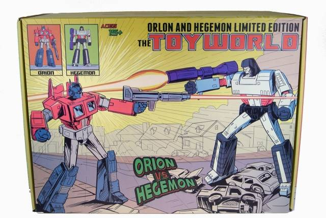 ToyWorld - TW01C02C - Hegemon & Orion - Convention Exclusive - MIB - 100% Complete