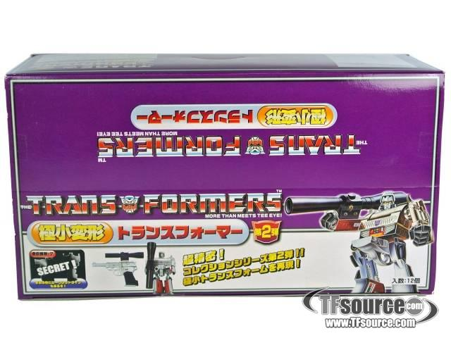 World's Smallest Transformers  - Wave  2 - Case of 12 - MISB