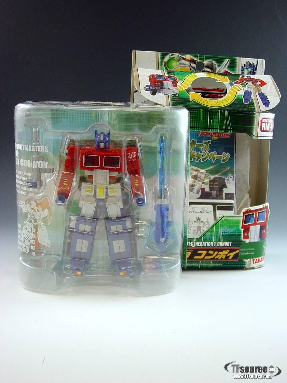 Robot Masters - RM-01 Robot Masters Optimus Prime/Convoy - MIB!