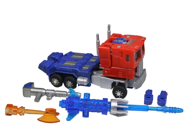 Robot Masters - RM-01 Convoy - Loose - 100% Complete
