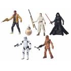 Star Wars - Episode VII 6in - Black Figure Wave 01 - Case of 6