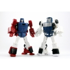 X-Transbots Master Mini - MM-VI Boost and MM-VII Hatch Set (Cartoon Version)