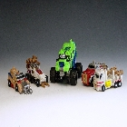 Transformers 2010 - Combiner Series 2 - Destructicons - Loose - 100% Complete