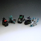 Transformers 2010 - Combiner Series 3 - Destrons - Loose - 100% Complete