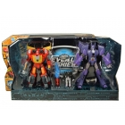 Transformers 2010 - Battle in Space - Hot Rod vs. Cyclonus - MIB - 100% Complete