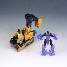 Transformers 2010 - Power Core Combiner 2-Pack - Sledge w/Throttler - Loose - 100% Complete