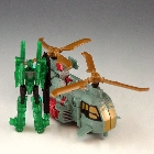 Transformers 2010 - Power Core Combiner - Windburn w/ Darkray - Loose - 100% Complete
