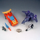 Transformers 2011 - Deluxe Series - Battle in Space - Loose - 100% Complete